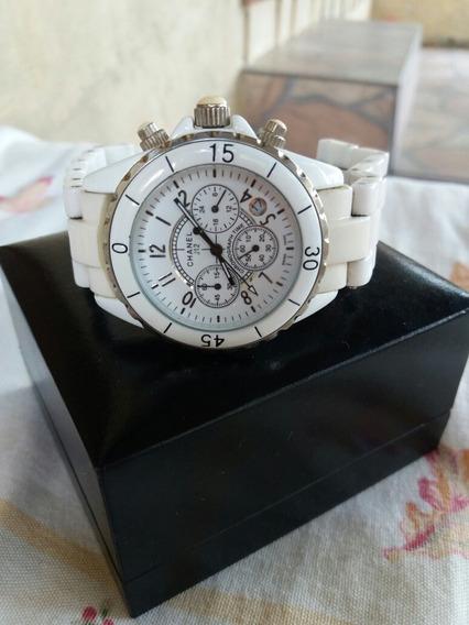 Relógio Chanel J12 Cronógrafo