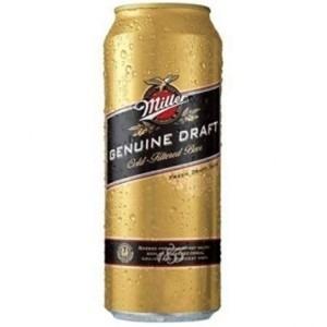 Cerveza Miller Lata 473ml / Pack 24 U. Pagalo Con Tc !!!