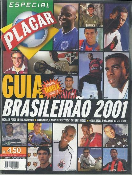 Revista Placar Guia Do Brasileirão 2001