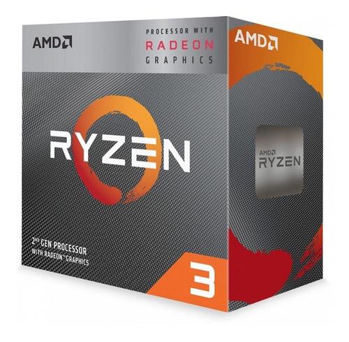 Imagem 1 de 6 de Processador Amd Lga Am4 Ryzen 3 3200g 3.6ghz 6mb