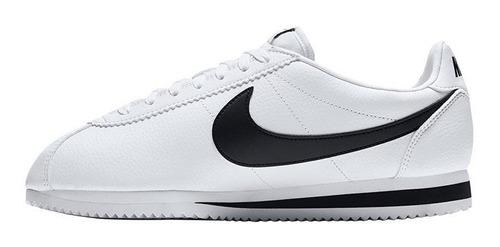 Tenis Nike Classic Cortez Leather Blanco 100% Originales