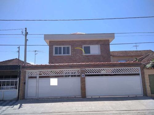 Sobrado De Condomínio Com 2 Dorms, Vila Margarida, São Vicente - R$ 230 Mil, Cod: 1264 - V1264