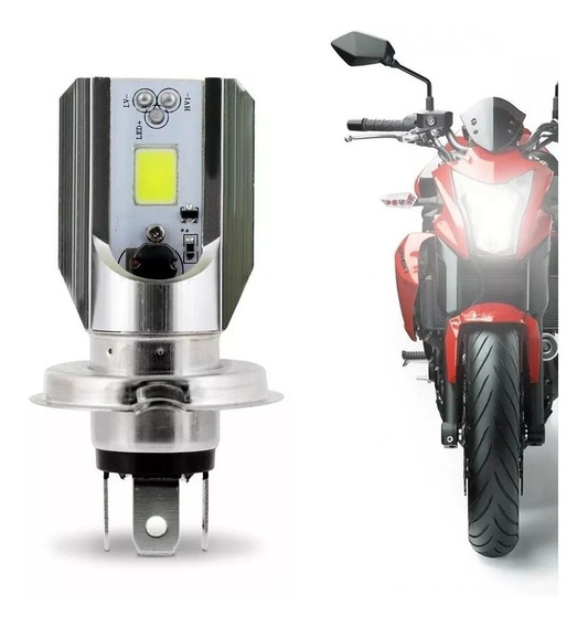 Lampada Farol Led H4 Moto Titan 150 / Fan 150 / Cg 125