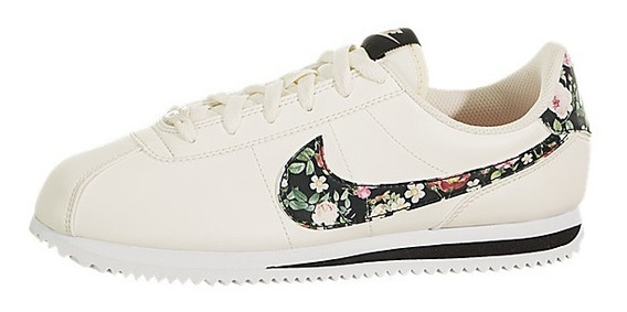 Tênis Basic Vintage Floral Infantil - Nike Cortez