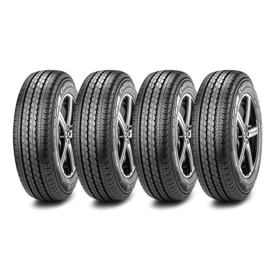 Kit X4 Pirelli 195/75 R16 Chrono Carga Neumen Ahora18