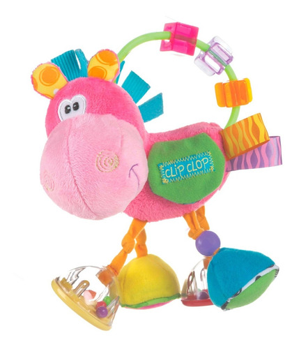 Sonajero De Bebe Clopette Activity Rattle Playgro