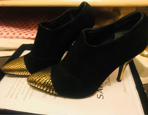 Zapatos Ricky Sarkany Artesanal 37 Divinos Sin Uso