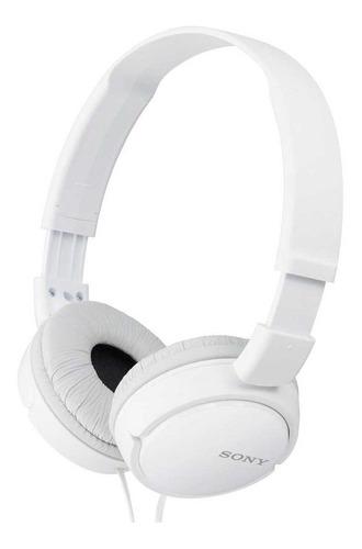 Imagen 1 de 2 de Audífonos Sony ZX Series MDR-ZX110 blanco