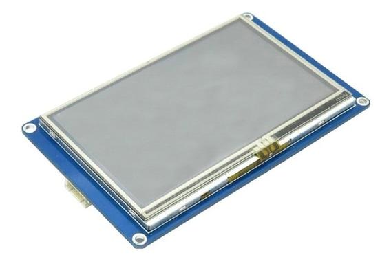 Tela Lcd Nextion 4.3 Tft 480x272 Touch Para Arduino