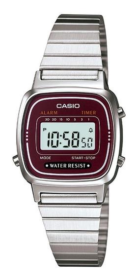 Promoção Relógio Casio Vintage Original La670wa-4df