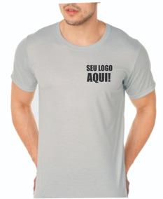 15 Camiseta Uniforme Empresa Personalizada Com Sua Logo Silk