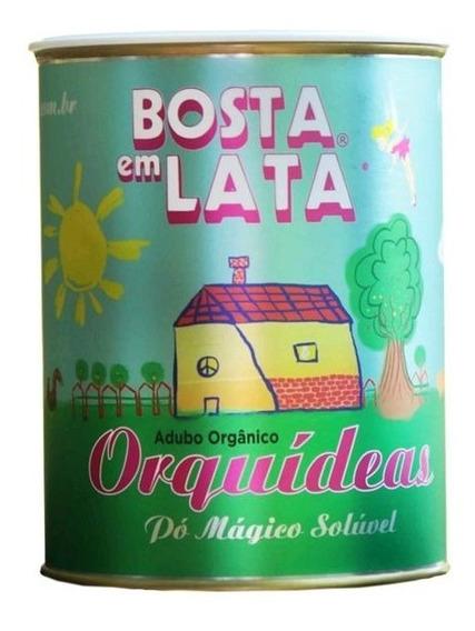 Pó Mágico Adubo Orgânico Orquídeas Bosta Em Lata - 1 Lata