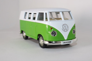 Kombi 1962 / Verde E Branca - Miniatura 13cm