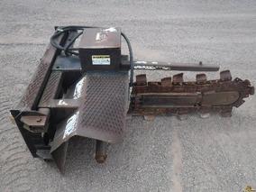 Zanjadora Para Acoplar A Minicargador Ancho De 6 Pul.