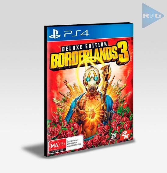 Borderlands 3 - Edição Deluxe Ps4 - Português- Envio Agora