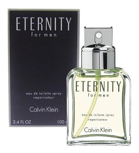 Loción Perfume Eternity Calvin Klein Hombre Original Garanti