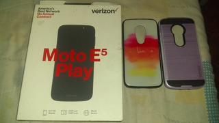 Teléfono Motorola E5 Play Nuevo Con Caja