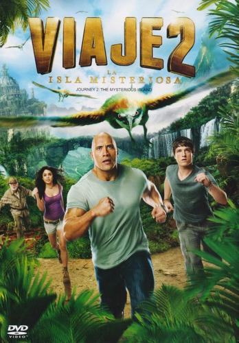 Viaje 2 Dos La Isla Misteriosa Pelicula  Dvd