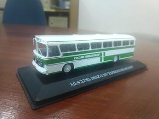 Miniatura De Ônibus 1/72 O-355 Mercedes-benz
