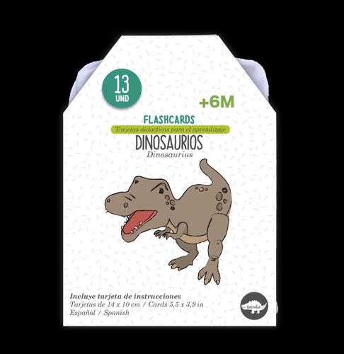 Flash Card Dinosaurios - Tarjetas De Dinosaurios