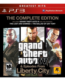 Gta Episodes From Liberty City Grand Theft Auto Ps3 Play3