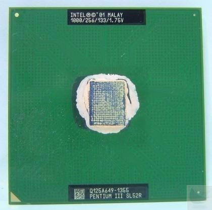 Processador Intel Pentium 3 1.0 Ghz 133mhz Socket 370