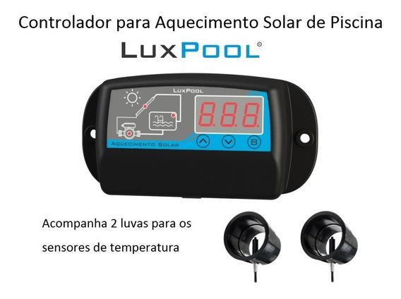 Controlador Temperatura Piscina - Cdt - Aquec. Solar + Luvas