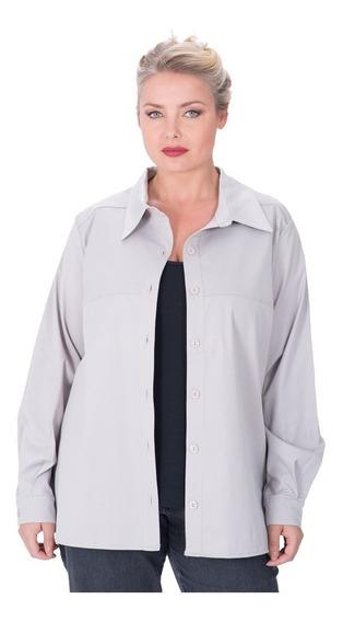 Camisa Portofem Clásica Lisa - Talles Grandes