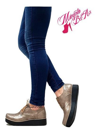 Zapatos Mujer Plataforma Goma Primavera-verano Mugato-bsas®