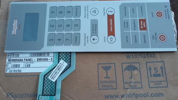 W10187226 Membrana Micro Ondas Brastemp Bmx40ar