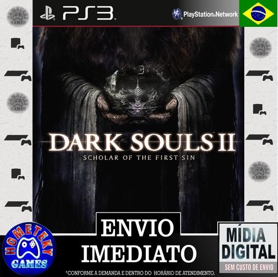 Dark Souls 2 Scholar Of The First Sin - Psn Ps3 Leg. Pt Br