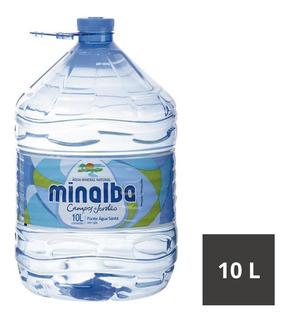 Água Mineral Sem Gás Minalba Garrafão 10 Litros