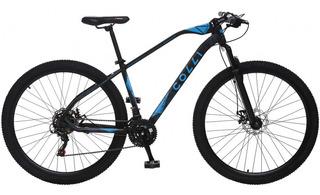 Bicicleta Aro 29 Colli Bike Duster, Preta/azul