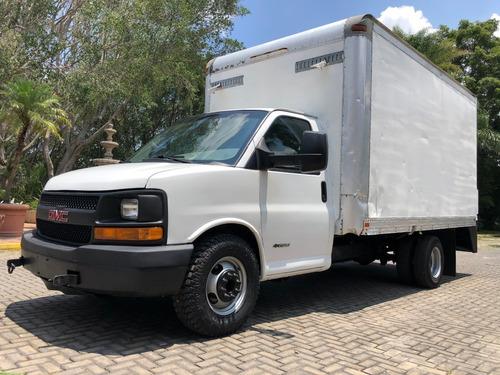 Imagen 1 de 15 de Chevrolet Express 3500 2012 Caja Seca 4 Ton Cutaway Caja Sec