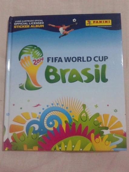 Álbum Copa Do Mundo Completo 2014 Capa Dura