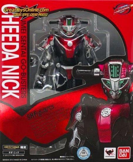 Bandai S.h. Figuarts Tokumei Sentai Go-busters Cheeda Nick