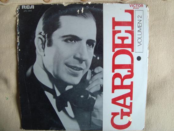 Disco Vinilo Carlos Gardel Volumen 2
