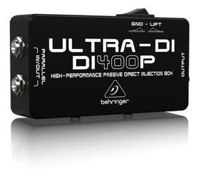 Direct Box Passivo Di400p Ultra Di400 - Behringer +nf