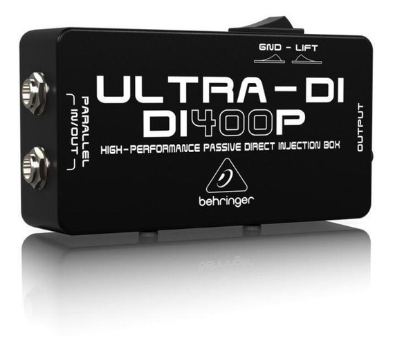 Direct Box Passivo Di400p Ultra Di400 - Behringer - Com Nota Fiscal E Garantia De 2 Anos Proshows !