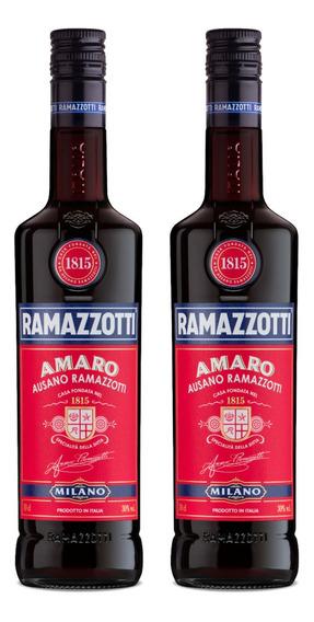Kit 2 Aperitivo Ramazzotti Amaro 750ml