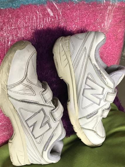Zapatos Deportivos New Balance De Cuero Escolares