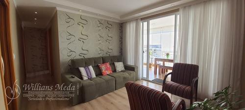 Lindo Apartamento + Planejados À Venda Por R$ 700.000 - Centro De Guarulhos/sp - 19202