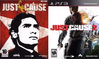 Just Cause 1 + Just Cause 2 ~ Ps3 Digital Español