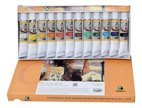 Oleo X 12 Unidades De 12ml Maries Pintura