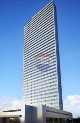 Flat Com 2 Dormitórios Para Alugar, 56 M² Por R$ 2.800/ano - Ilha Do Leite - Recife/pe - Fl0083