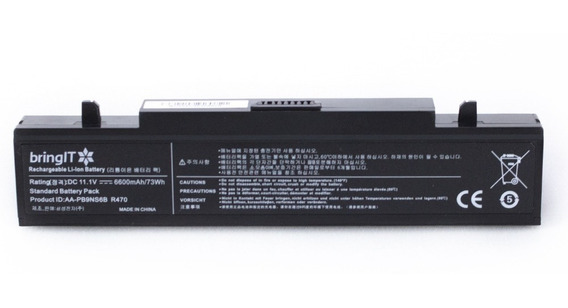 Bateria Para Notebook Samsung Rf511 Aa-pb9ns6w Rv411 - 9 Células - Marca Bringit