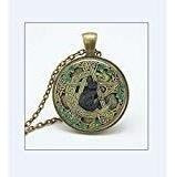 Elementos Pentagram Wicca Colgante Collar Wiccan Jewelry