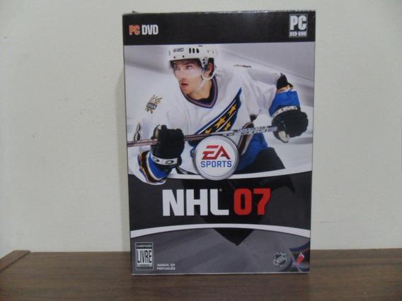 Game Pc Nhl 07 - Edição De Luxe Dvd-rom Raridade