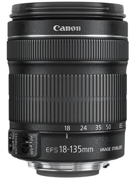 Lente Canon Ef-s 18-135mm F/3.5-5.6 Is Stm Produto Novo