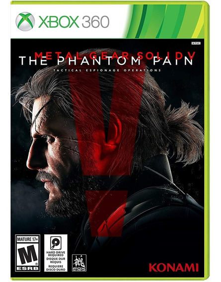 Metal Gear Solid V: The Phantom Pain - Xbox 360 Lacrado